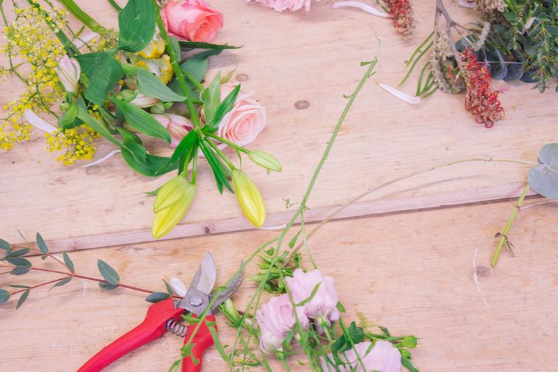 Team building digital - Création d'un bouquet