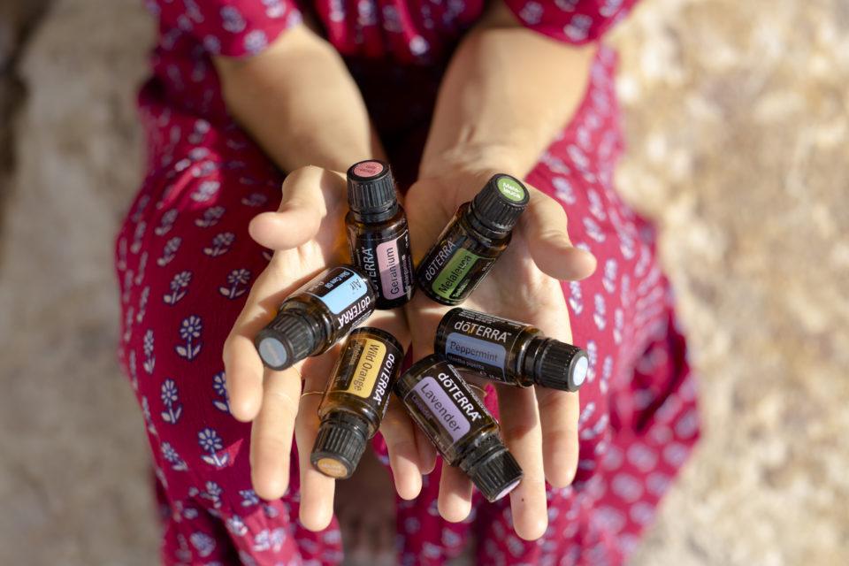 Atelier en équipe d'aromathérapie