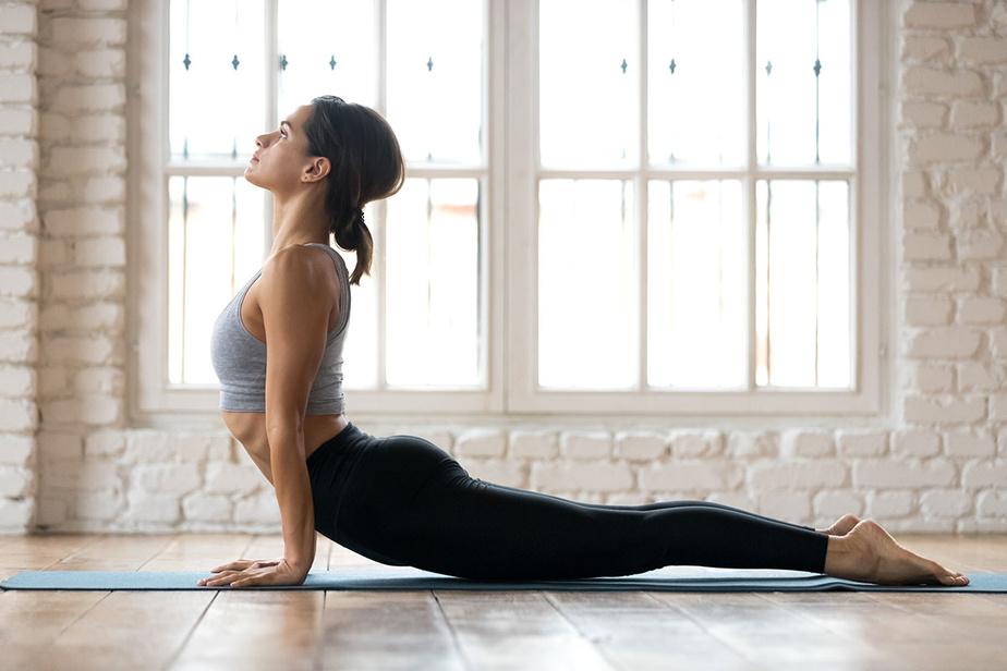 animation digitale cours de yoga en ligne