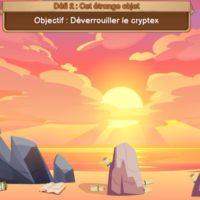 animation digitale chasse au trésor