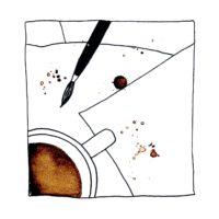 Atelier peinture en ligne caféiné